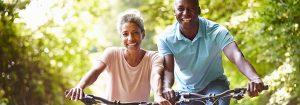 Chiropractic Crosby MN Elderly Couple Biking